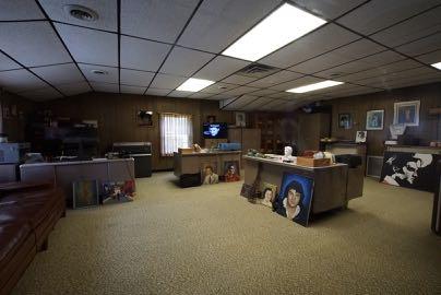 Büro-bis 5000 Fanbriefe täglich!