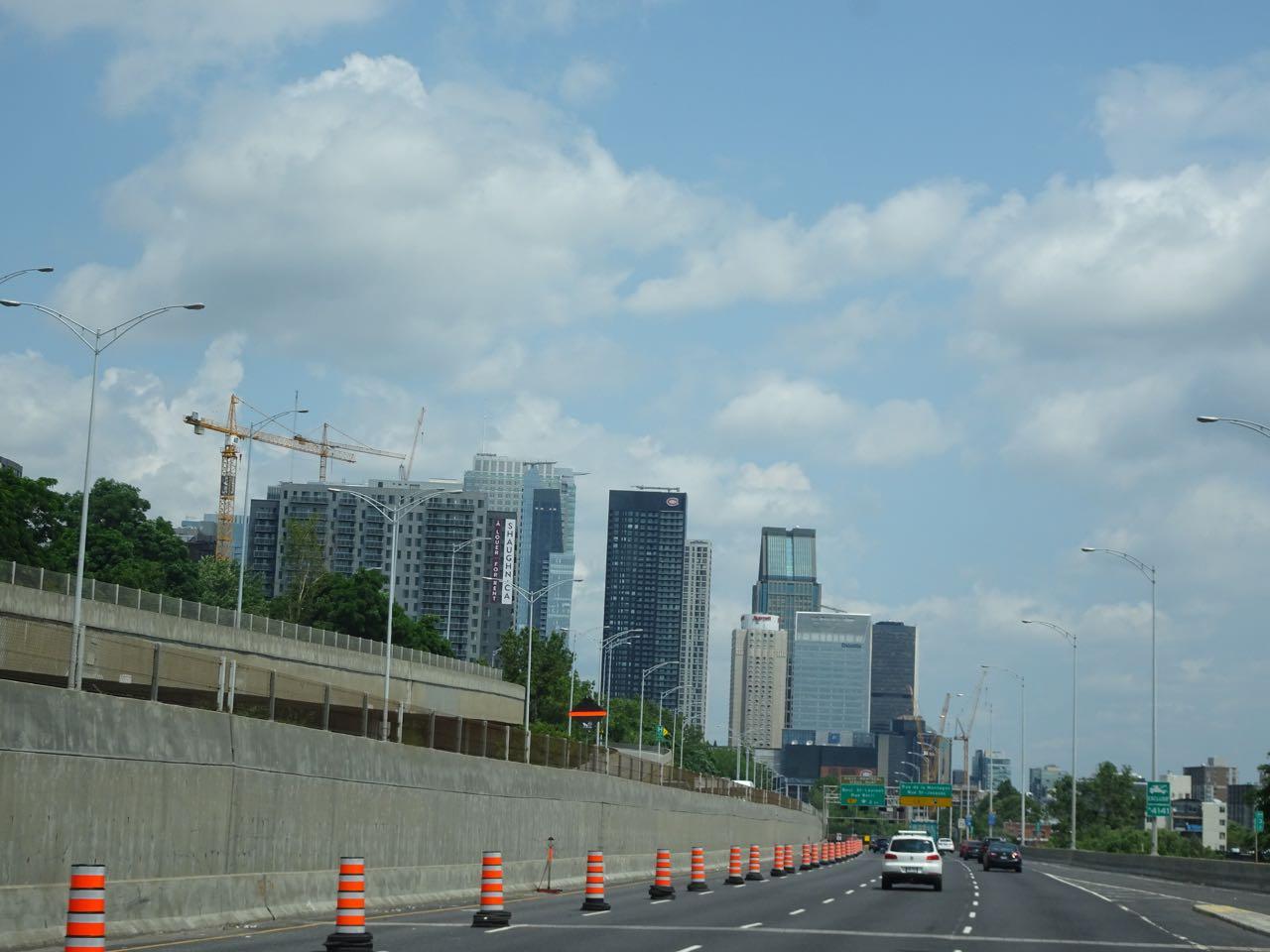 Erster Blick auf Montreal