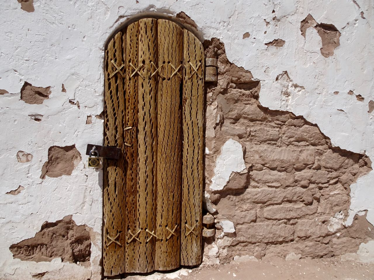 Kirchentür aus Kaktusholz