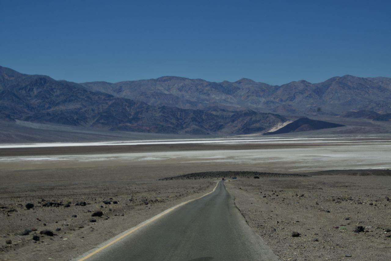 Anfahrt Death Valley