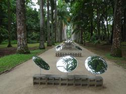 Kunst im botanischen Garten