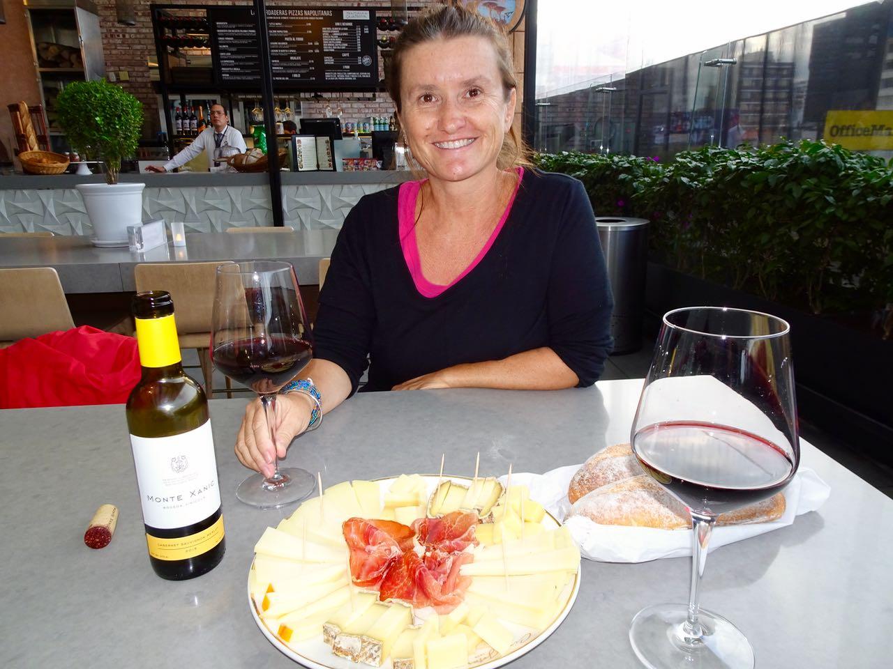 Käse, Serano & Wein...was braucht es mehr_
