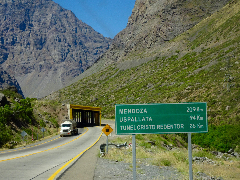 Kurz vor der argentinischen Grenze