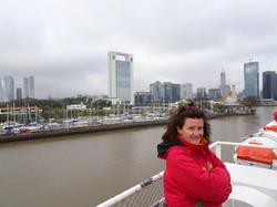 Mit dem Schiff von Uruguay nach Argentinien