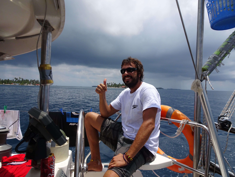 Borja, der spanische Skipper