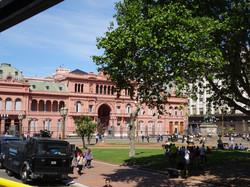 Plaza Major mit Präsidenten Palast