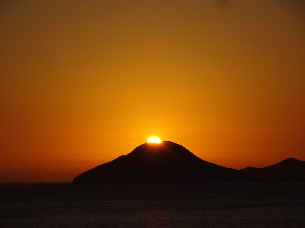 Sonnenuntergang in Tortugas