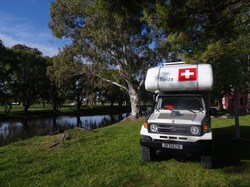 Camping in Azul