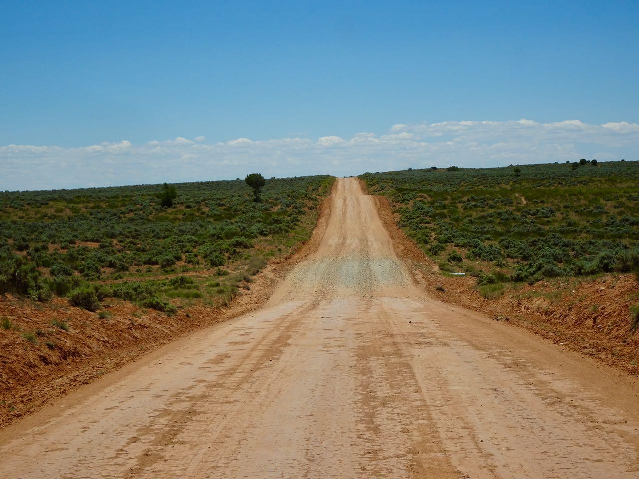 Dirt Road zum Mule Point