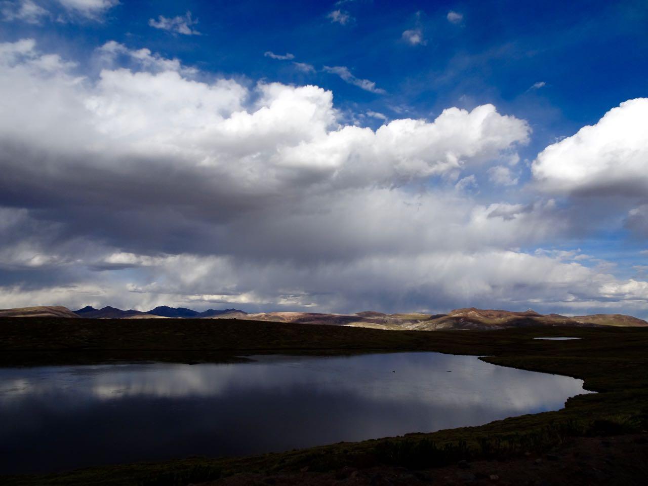 Lagune auf 4400 m