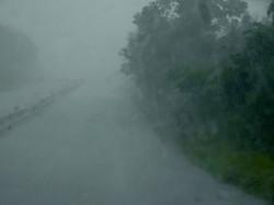 Regen in Panama