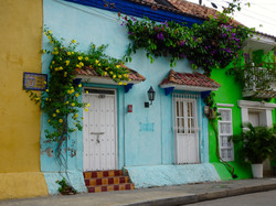 Cartagenas Häuser