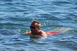 Baden - ohne Orcas -13 Grad