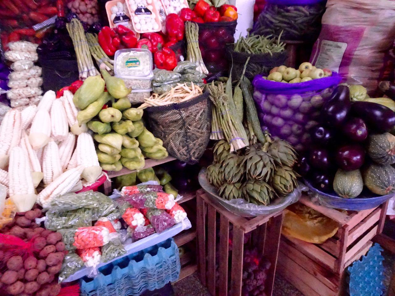 Mercado Central Verduras