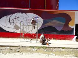 Strassenkust La Paz