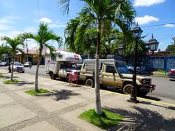 Vor dem Markt in Masaya