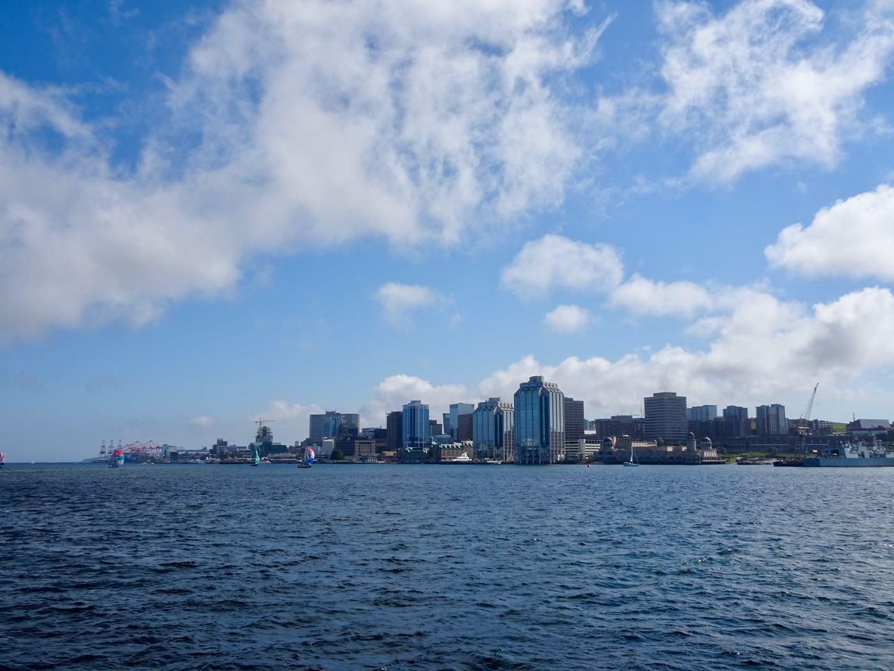 Blick von Dartmouth nach Halifax
