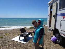 Mein Büro am Meer