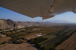 Anflug über Nazca