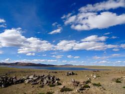 Lagune auf 4500 m
