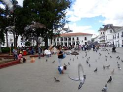Parque Caldas Popayan