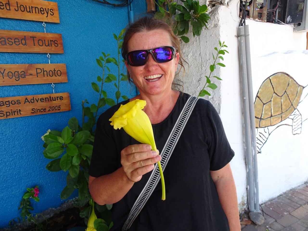 AufGalapagos ist alles etwas grösser