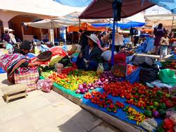 Früchte und Gemüsemarkt