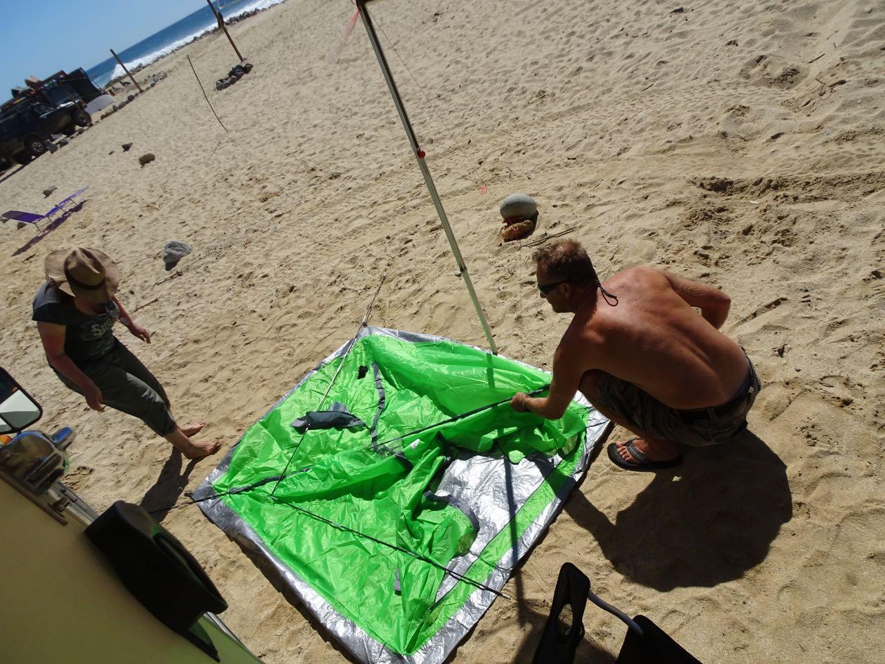 Zelten leicht gemacht...
