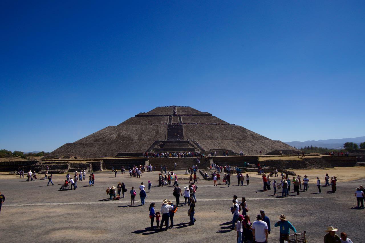 Die Sonnenpyramide