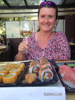 Sushi zum Z'Mittag