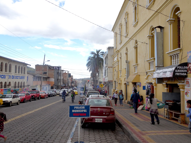 Gassen in Otavalo