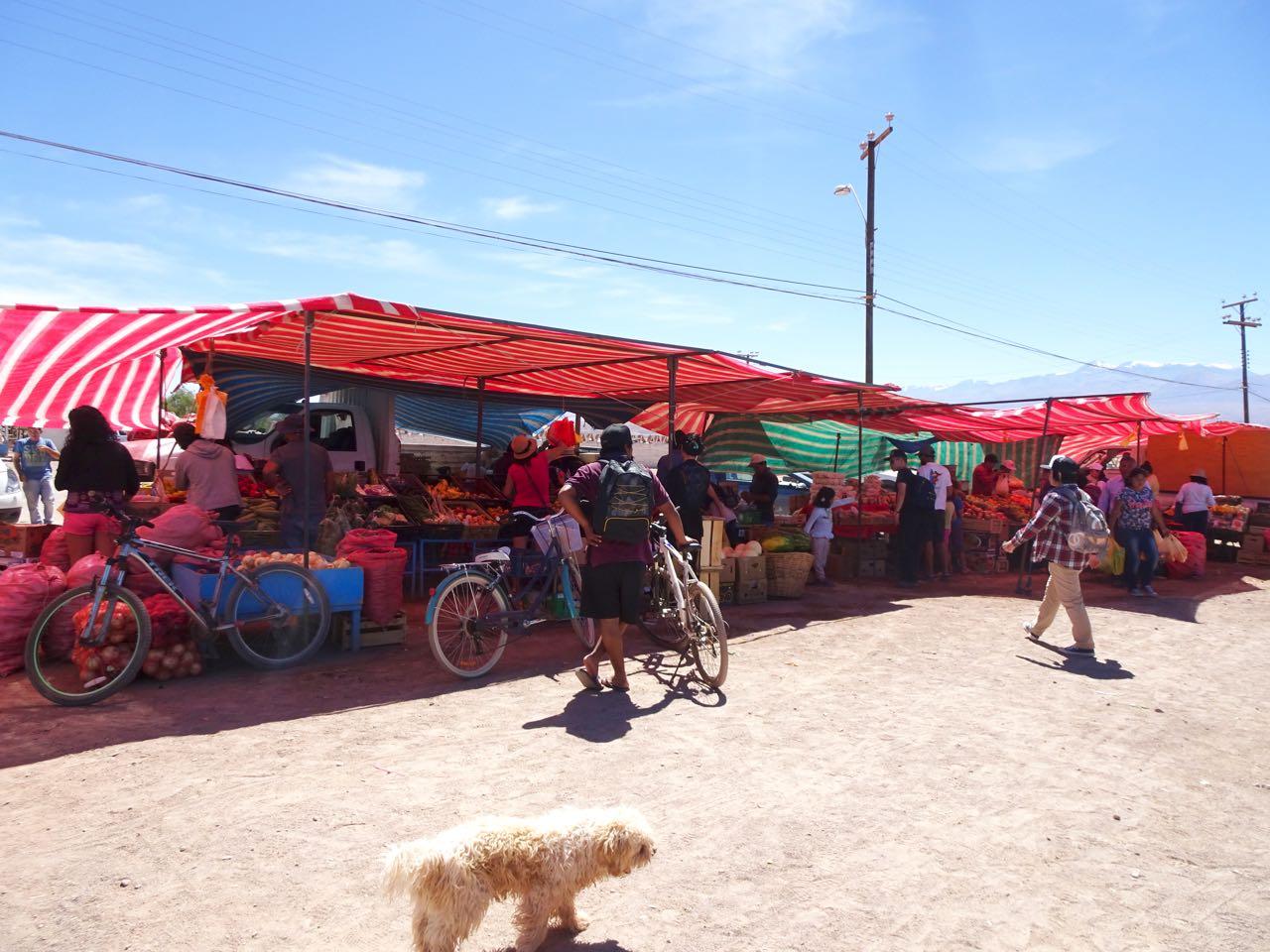 Gemüsemarkt San Pedro