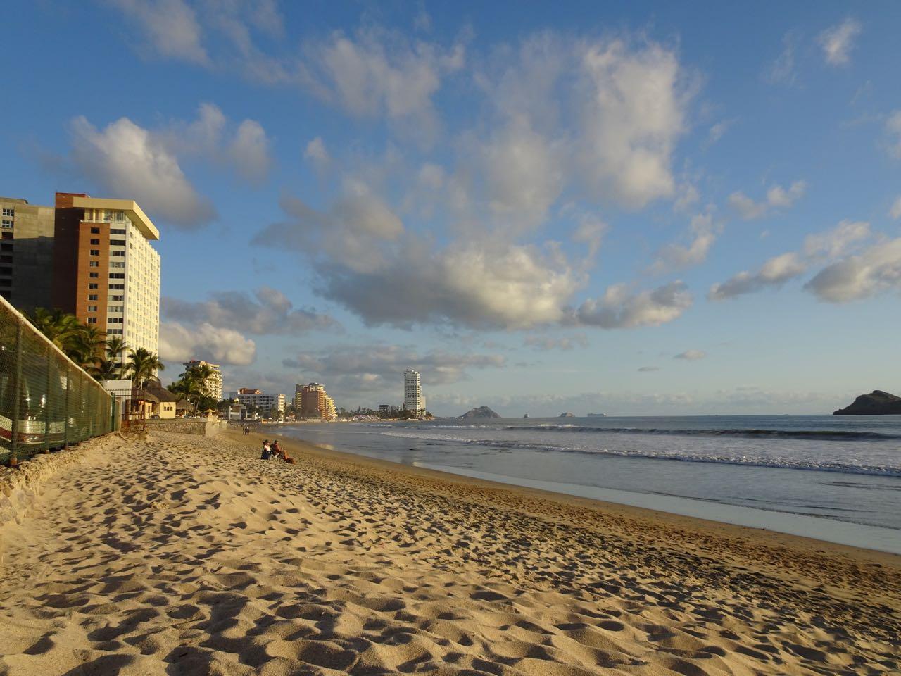 Der Strand beim RV