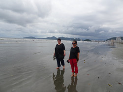 Strand von Santos