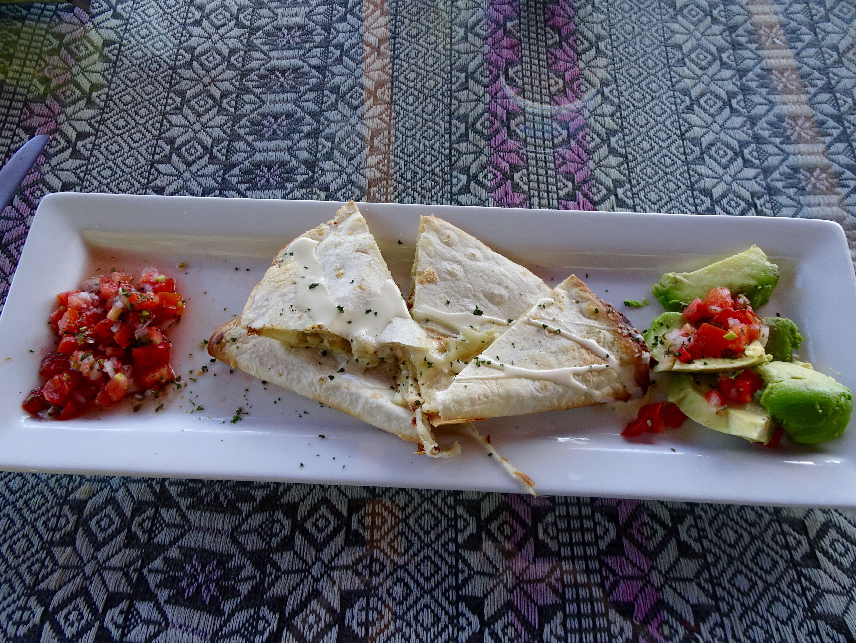 Quesadillas gehen immer!