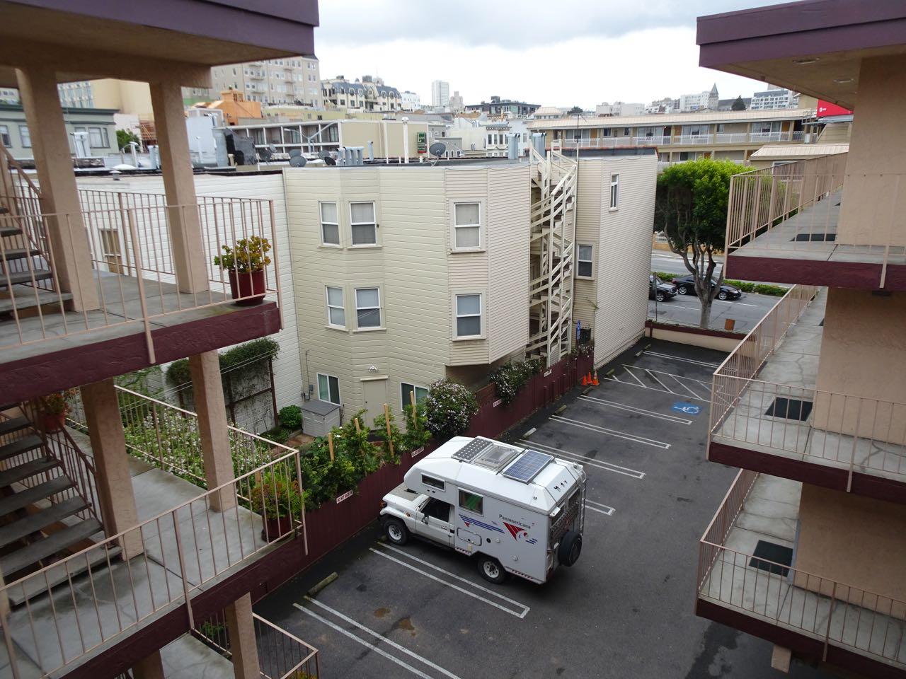 Guter Schlafplatz in SF