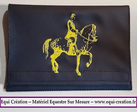 Protège carnet cheval