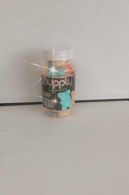 CBD Sour Gummies 900Mg
