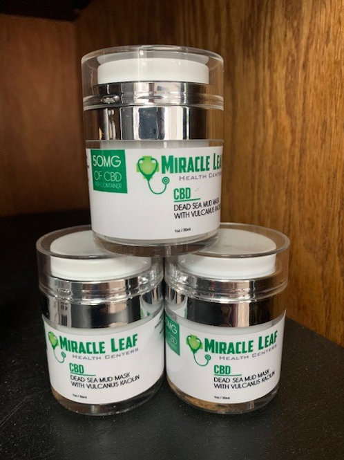 Miracle Leaf Dead Sea Mud Mask