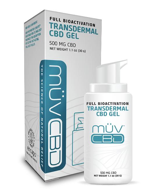 MUV Transdermal CBD Gel