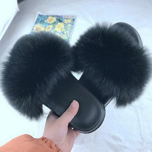 C&S lovely slippers false fur