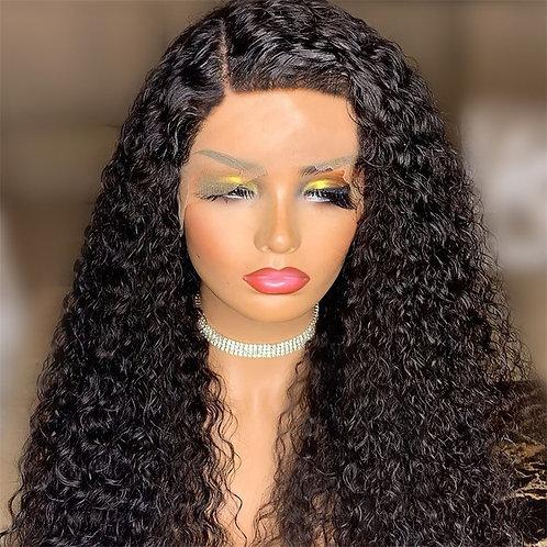 Long malaysian Hair Lace Front Wig