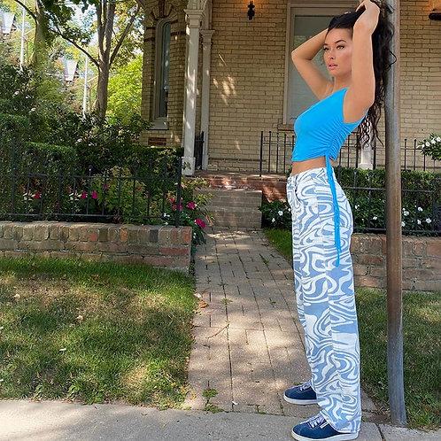 Fashion Skinny Long Trousers