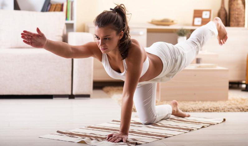¿Yoga en casa? Crea tu espacio en 4 pasos