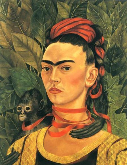 Autoretrato con Mono, 1940