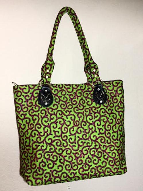 Ankara Bag.....African Bag...... Shoulder Handbag