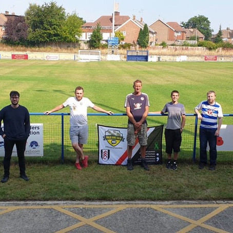 24 Hour Stadium Relay at Haywards Heath Town FC