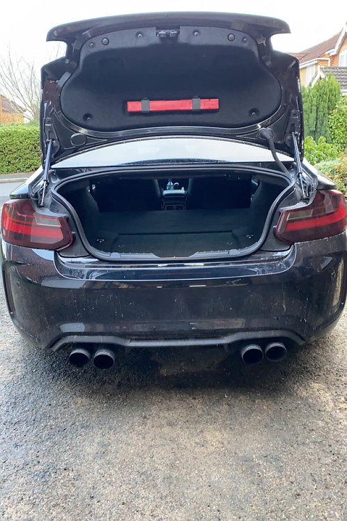 BMW 240i Clubsport False Floor
