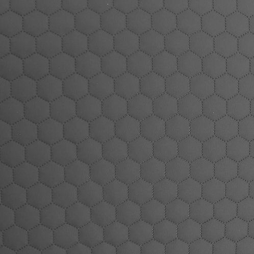 Leather patterned stitch