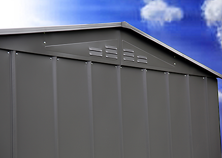 quality shed with ventilation